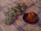Виноград и яблоки. 1921
