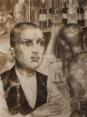Гарсон парижского кафе. 1924