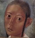 Голова мальчика-узбека. 1921