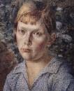 Девочка в лесу. 1938