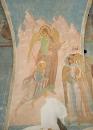 Собор Рождества Богородицы. Разрез по западному поперечному нефу. Вид на запад. Видение пророка Дани