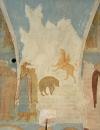 Собор Рождества Богородицы. Разрез по западному поперечному нефу. Вид на запад. Четыре зверя видения