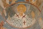 Собор Рождества Богородицы. Разрез по восточному поперечному нефу. Вид на восток. Святитель Николай