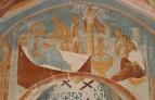 Собор Рождества Богородицы. Разрез по восточному поперечному нефу. Вид на восток. Рождество и крещен