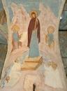 Собор Рождества Богородицы. Разрез по западному поперечному нефу. Вид на восток. «Светоприемную свещ