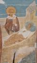 Собор Рождества Богородицы. Разрез по южному продольному нефу. Вид на север. Явление святителя Никол