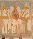 Собор Рождества Богородицы. Разрез по южному продольному нефу. Вид на юг. Второй Вселенский собор