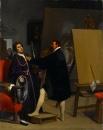 1848. Аретино в мастерской Тинторетто (44.2 х 35.8 см) (Нью-Йорк, Метрополитен)