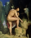 1864. Эдип и сфинкс (105.5 х 87 см) (Балтимор, музей Уолтерса)