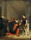 1832, Дон Педро Толедский, целующий шпагу Генриха IV (36 х 28 см) (Париж, Лувр)