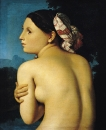1807. Купальщица (51 х 42.5 см) (Байон, музей Бонна)