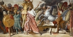 1812. Ромул - победитель Акрона (276 х 530 см) (Париж, Лувр)