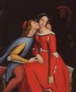 1819, Паоло и Франческа да Римини (26 х 21.5 см) (ч.с.)