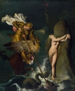 1819. Роже, освобождающий Анжелику (47.6 х 39.4 см) (Лондон, Национальная галерея)