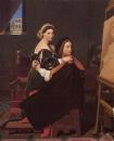 1814, Рафаэль и Форнарина (Кембоидж, Гарвардский университет, Музей искусства)