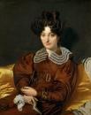 1826,  Мадам Маркотт де Сен-Мари (93 х 74 см) (Париж, Лувр)