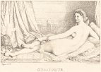 1825 Одалиска (литография)