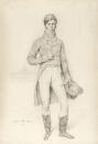 1816 Портрет лорда Grantham (40.4 х 28.2 см) (карандаш) (Лос-Анжелес, музей Пола Гетти)