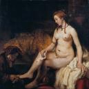 Вирсавия с письмом царя Давида
