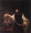 Аристотель, созерцающий бюст Гомера