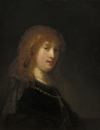 Саския ван Эйленбург, жена художника