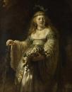 Портрет Саскии в аркадийском костюме