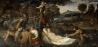 Юпитер и Антиопа или Венера на леопардовой шкуре