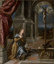 Святая Екатерина Александрийская в молитве