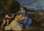 Мадонна с младенцем и Иоанном Крестителем
