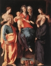 Мадонна с младенцем и Святая Анна