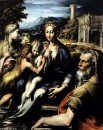 Мадонна на троне, Захария, Иоанн Креститель и Мария Магдалина
