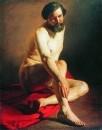 Натурщик. 1858