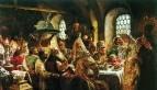 Боярский свадебный пир в XVII веке. 1883