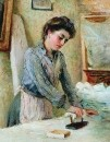 Гладильщица. 1900-е