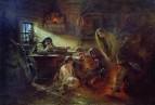 Святочные гадания. 1900-е