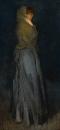 Композиция в желтый и серый: Эффи Динс. 1876-78