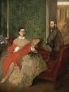 105_Эдмонд и Тереза Морбилли (1865-1866) (117.2 х 89.7) (Вашингтон, Нац. галерея)