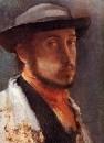 Автопортрет в мягкой шляпе