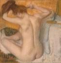 Женщина, расчёсывающая свои волосы (1888-1890)