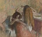 Женщина, расчёсывающая свои волосы (1892-1895)