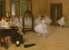 Танцевальный класс (ок.1870) (19.7 х 27) (Нью-Йорк, Метрополитен)