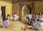 Танцевальный класс в опере (1872) (Париж, музей Орсэ)