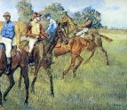 Скаковые лошади (ок.1873) (Кливленд, Музей искусства)