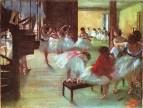 Танцевальный класс (1873) (США, галерея искусств Коркоран)