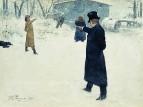 Дуэль Онегина и Ленского. 1899