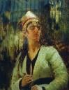 Женщина с кинжалом. 1870-е