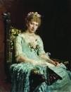 Женский портрет (Е.Д. Боткина). 1881