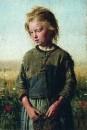 Нищая (Девочка-рыбачка). Вёль. 1874