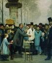 Продавец новостей в Париже. 1873