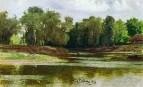 Берег реки. 1876